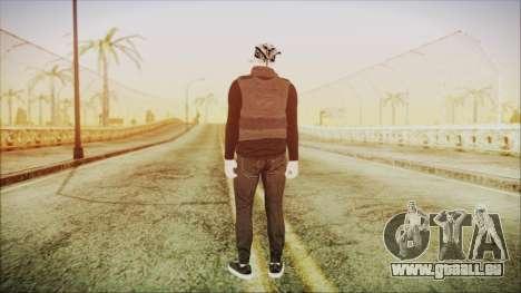 GTA Online Skin Random 2 pour GTA San Andreas troisième écran