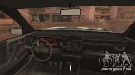 GTA 5 Declasse Granger Civilian IVF pour GTA San Andreas vue de droite