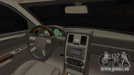 Chrysler 300С Unalturan für GTA San Andreas rechten Ansicht
