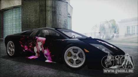 Lamborghini Murcielago 2005 Yuno Gasai IVF pour GTA San Andreas roue