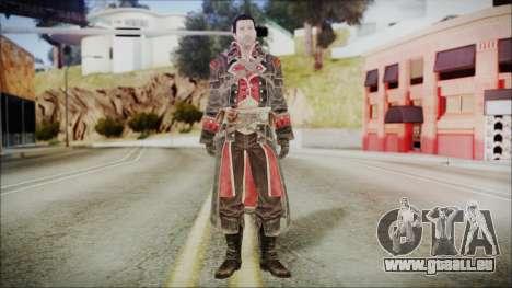 Shay Patrick Cormac - Assassins Creed Rogue für GTA San Andreas zweiten Screenshot