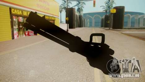 GTA 5 Minigun für GTA San Andreas zweiten Screenshot