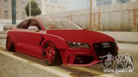 Audi RS7 X-UK L3D pour GTA San Andreas