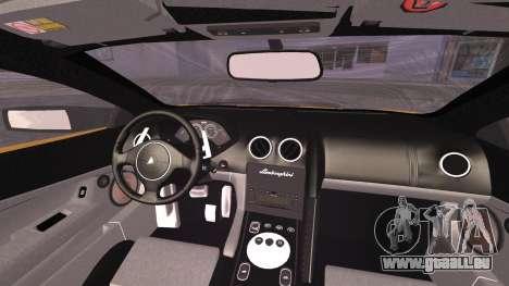 Lamborghini Murcielago 2005 Yuno Gasai IVF pour GTA San Andreas vue de droite