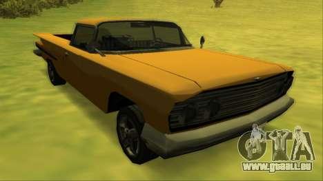 Voodoo El Camino v1 für GTA San Andreas Räder