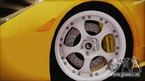 Lamborghini Murcielago 2005 Yuno Gasai IVF pour GTA San Andreas sur la vue arrière gauche