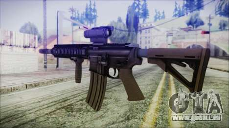 MK18 SEAL pour GTA San Andreas deuxième écran
