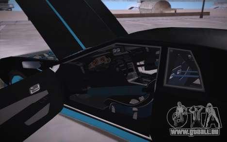 Elegy DRIFT KING GT-1 (Stok wheels) pour GTA San Andreas vue de côté