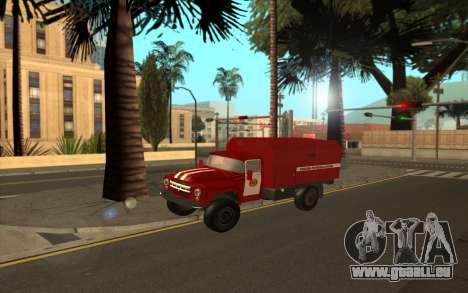 ZIL 130 MES Ukraine pour GTA San Andreas