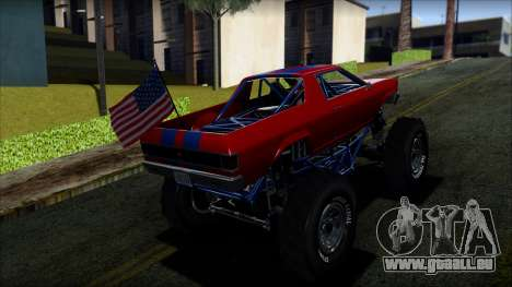 GTA 5 Cheval Marshall IVF pour GTA San Andreas laissé vue