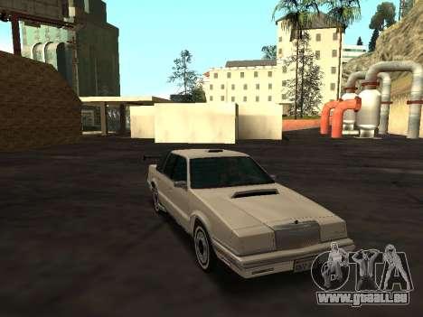 Chrysler New Yorker 1988 pour GTA San Andreas vue de dessus