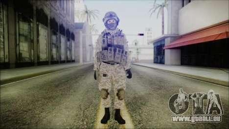 CODE5 Afghanistan pour GTA San Andreas deuxième écran