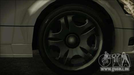 GTA 5 Karin Intruder IVF für GTA San Andreas zurück linke Ansicht
