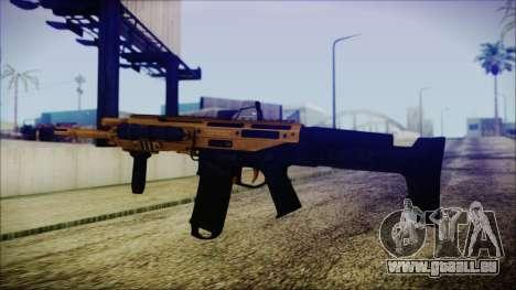Bushmaster ACR Gold für GTA San Andreas zweiten Screenshot