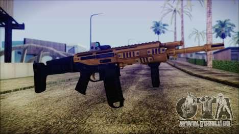 Bushmaster ACR Gold für GTA San Andreas