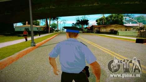 L'employé du Ministère de la Justice v2 pour GTA San Andreas quatrième écran