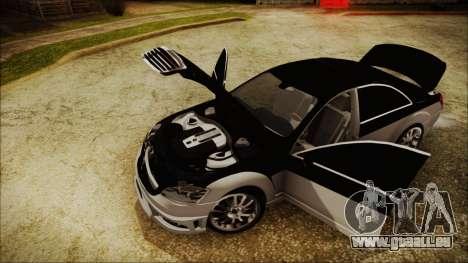 Carlsson Aigner CK65 RS v2 Headlights für GTA San Andreas Rückansicht