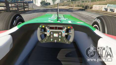 Force India VJM03 pour GTA 5