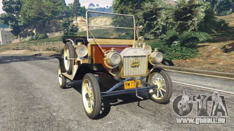 Ford Model T [two colors] pour GTA 5