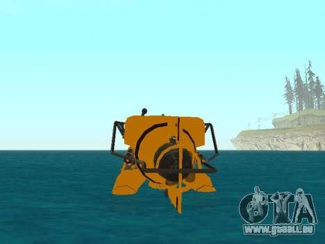 Submersible de GTA V pour GTA San Andreas salon