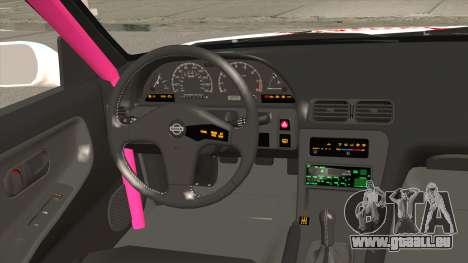 Nissan 240SX Pony Power pour GTA San Andreas vue intérieure