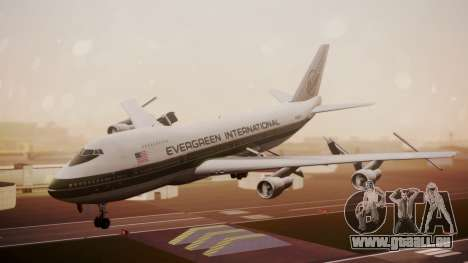 Boeing 747-200 Evergreen International Airlines pour GTA San Andreas