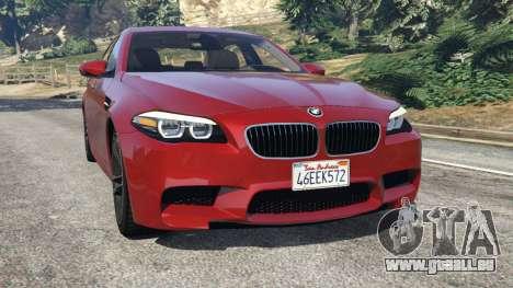 BMW 535i 2012 für GTA 5