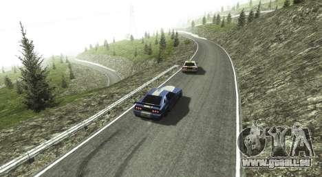 Stelvio Pass Drift Track pour GTA San Andreas
