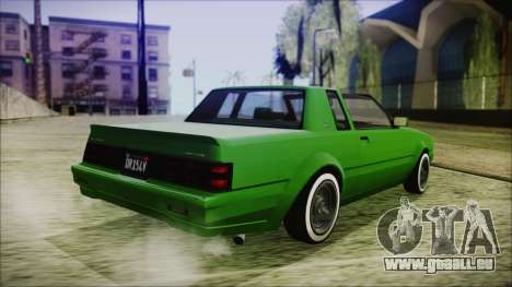 GTA 5 Willard Faction Custom für GTA San Andreas linke Ansicht