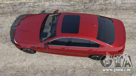 GTA 5 BMW 535i 2012 Rückansicht