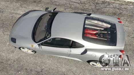 GTA 5 Ferrari F430 2004 vue arrière