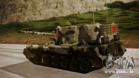 Norinco PLZ-45 155mm pour GTA San Andreas laissé vue