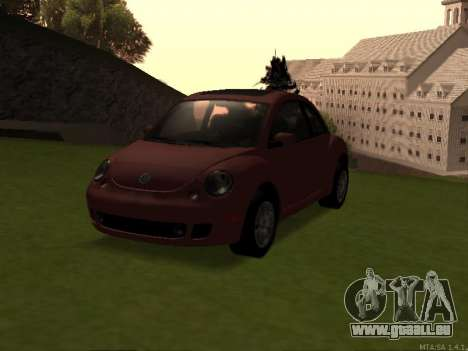 VW New Beetle 2004 Tunable pour GTA San Andreas