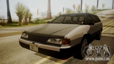 Stratum FnF Skins pour GTA San Andreas sur la vue arrière gauche