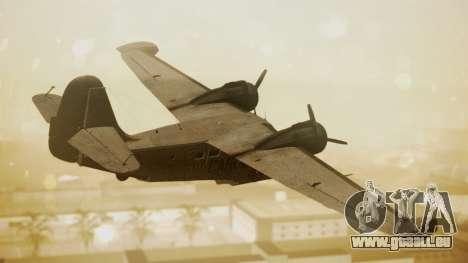 Grumman G-21 Goose N56621 Rusty für GTA San Andreas linke Ansicht