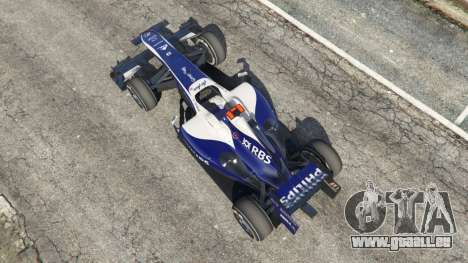 GTA 5 Williams FW32 Rückansicht