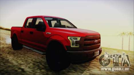 Ford F-150 2015 Sport pour GTA San Andreas