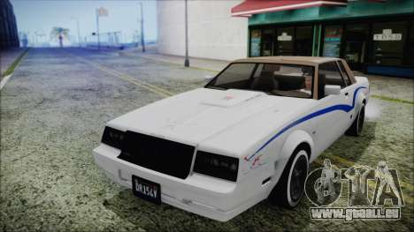 GTA 5 Willard Faction Custom für GTA San Andreas Seitenansicht