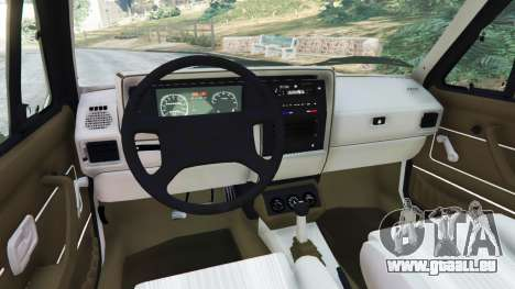 GTA 5 Volkswagen Rabbit 1986 v2.0 hinten rechts