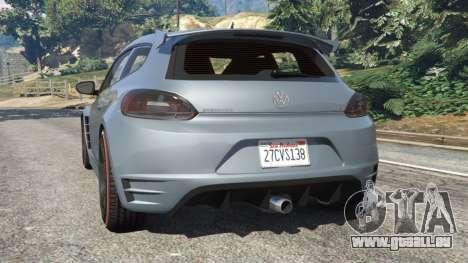GTA 5 Volkswagen Scirocco hinten links Seitenansicht