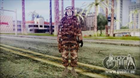 Chinese Army Desert Camo 3 für GTA San Andreas zweiten Screenshot