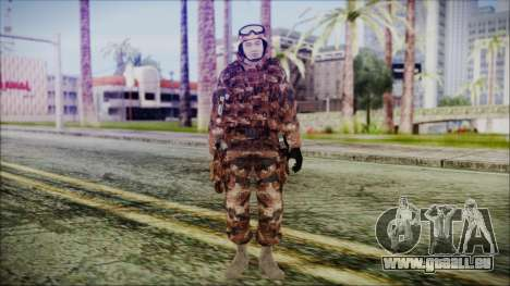 Chinese Army Desert Camo 3 pour GTA San Andreas deuxième écran