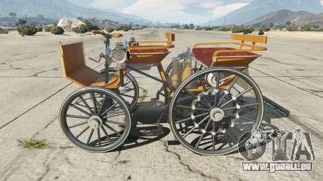 GTA 5 Daimler 1886 [colors] linke Seitenansicht
