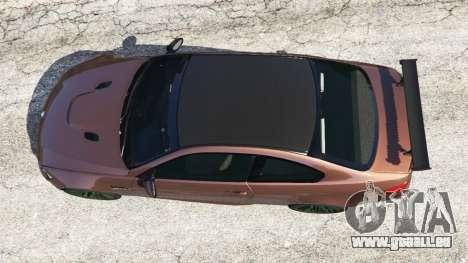 BMW M3 (E92) GTS v0.1 pour GTA 5
