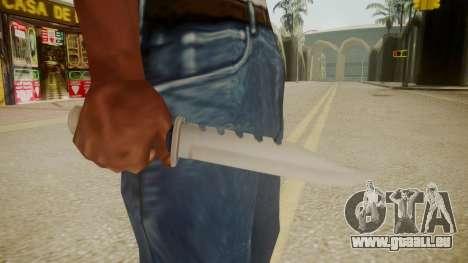 GTA 5 Knife pour GTA San Andreas troisième écran