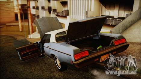 Oldsmobile Delta 88 1973 Final pour GTA San Andreas vue arrière