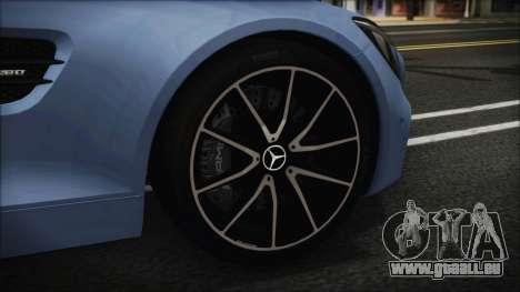 Mercedes-Benz AMG GT 2016 für GTA San Andreas zurück linke Ansicht