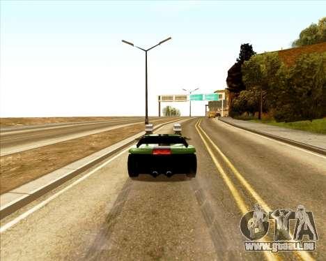 Banshee Twin Mill III Hot Wheels pour GTA San Andreas vue arrière