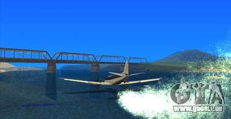 Water Effect pour GTA San Andreas quatrième écran