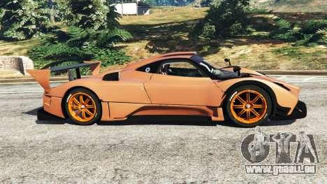 GTA 5 Pagani Zonda R v0.9 linke Seitenansicht